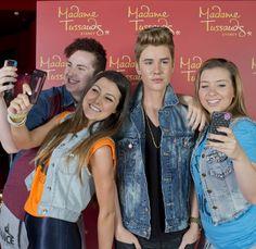 Justin Bieber Wax Figure Revealed At Madame Tussauds Sydney!