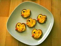 Easter Chick Pretzels