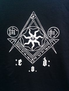 Esoteric Order of Dagon: Masonic Origins T by TheInnsmouthLook Occult Symbols, Occult Art, Paranormal, Call Of Cthulhu Rpg, Magic Circle, Horror Art, Graphic Design Illustration, Sacred Geometry, Dark Art