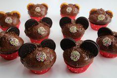 Minnie Maus Party Muffins auf www.herzweh-design.de