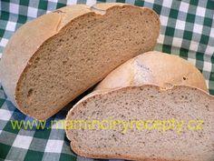 Malý kváskový chleba Bread, Food, Brot, Essen, Baking, Meals, Breads, Buns, Yemek