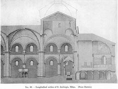 S. Ambrogio (Milan): Longitudinal section | Flickr - Photo Sharing!