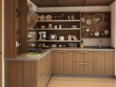 L-shaped Modular Kitchens Online India | CapriCoast