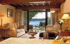 Hotel in Lovely Corfu, Greece