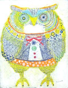 'Owl's Ho Ho' by Kanae Kohno