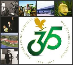 This year, 2013, marks the 35th birthday of Forever Living Products!