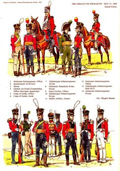 Danish Napoleonic period regiments - Google Search