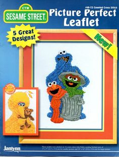 CTW Sesame Street Picture Perfect Oscar by howtobooksandmore