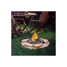 Patioflame Wood Burning Stainless Steel Log