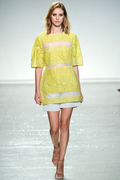 See all the Collection photos from Rebecca Taylor Spring/Summer 2014 Ready-To-Wear now on British Vogue Ny Fashion Week, Love Fashion, Fashion News, Runway Fashion, High Fashion, Fashion Show, Fashion Design, Fashion Trends, Fashion 2014