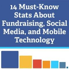 14 Must-Know Stats about Fundraising, Social Media, and Mobile Technology #nonpr...