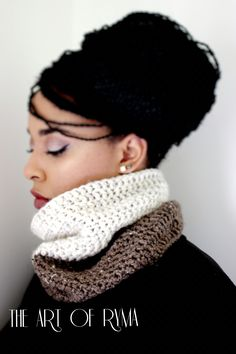 """The Yvette"" Crochet Cowl"