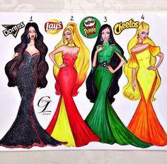 1 2 3 or Cute Disney Drawings, Pretty Drawings, Cool Art Drawings, Girl Drawing Sketches, Art Drawings Sketches, Dress Drawing, Drawing Clothes, Fashion Design Drawings, Fashion Sketches