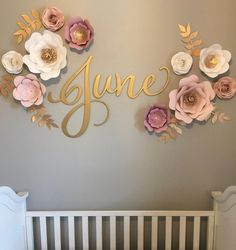 Wooden Name Sign, Nursery Name Sign, Nursery Decor, Sign For Baby Nursery, Large Wooden Letters Sign