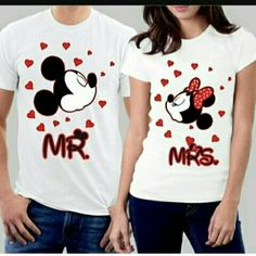 Looking for the perfect Picontshirt Mr And Mrs Mickey Couple T-Shirts Men L / Women L White? Please click and view this most popular Picontshirt Mr And Mrs Mickey Couple T-Shirts Men L / Women L White. Cool Shirts For Girls, Cute Shirts, T Shirts For Women, Matching Couple Shirts, Matching Couples, Couple T Shirt Design, Bride Tank Tops, Cute Shirt Designs, Country Girls Outfits