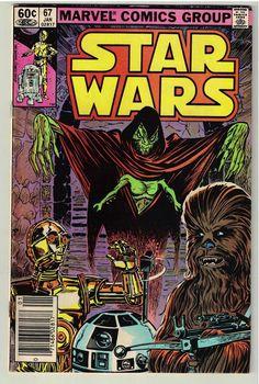 Vintage January 1983 Star Wars #67 Marvel Comic Book - Rare & Nice
