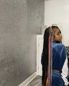 Black Girl Braids, Braided Hairstyles For Black Women, Baddie Hairstyles, Weave Hairstyles, Pretty Hairstyles, Natural Hair Braids, Hair Flip, Hair Shows, Different Hairstyles