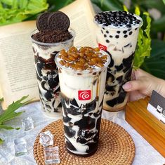 Bubble Tea Menu, Aesthetic Food, Confectionery, Food And Drink, Bubbles
