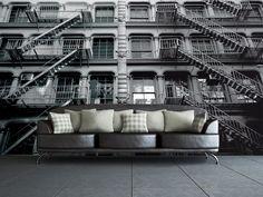 1Wall New York Apartments Wall Mural