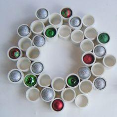 pvc wreath pintrest | PVC Wreath on Etsy | Unique and Creative Wreaths