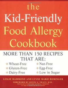 This is a really good book that uses ingredients you already have at home (if you are eating gluten and dairy free, anyway; none of this 100 different gluten free flours, weird sugars stuff). I originally checked it out from the library and just bought it because I liked it so much. Some of the stuff isn't soy free (and some of the dairy substitutions offered are made of soy), but it's still worth it for the rest of the recipes.