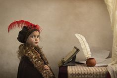 Photographer creates outstanding Renaissance inspired portraits with his daughter - DIY Photography Father Daughter Photography, Children Photography, Fine Art Photography, Portrait Photography, Photography Studios, Inspiring Photography, Creative Photography, Digital Photography, Street Photography