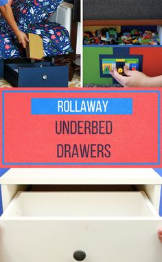 Save Space With These DIY Roll-And-Stow Drawers
