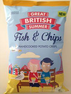 Marks & Spencer Great British Summer, illustrated by Kate Larsen