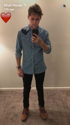 Niall Horan on snapchat 11/20/16