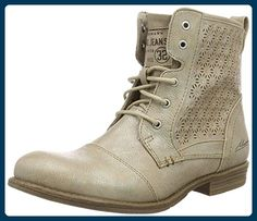 Mustang Damen 1157-543-318 Combat Boots, Braun (318 Taupe),