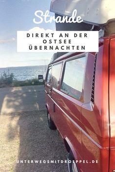 Ein Roadtrip nach Dänemark. In Strande bei Kiel haben wir diesen wunderbaren Stellplatz für Wohnmobile direkt an der Ostsee entdeckt. Übernachten mit Meerblick.