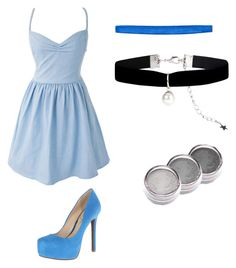 Cinderella by niki-lear on Polyvore featuring polyvore, fashion, style, Jessica Simpson, Accessorize and Sparkly Soul