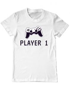 Tricou Tricou Player 1 Player 1, Mens Tops, T Shirt, Design, Fashion, Supreme T Shirt, Moda, Tee, La Mode