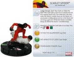 Scarlet Spider #018 Amazing Spider-Man Marvel Heroclix - Marvel: Amazing Spider-Man - Heroclix