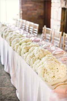 wedding head table - Google Search