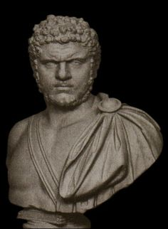 Caracalla Bust Sculpture Roman Emperor - Identical Reproduction - Roman Emperors Collection - Roman and Etruscan - Civilization
