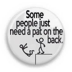 A PAT on the back...