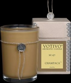 Votivo Champaca Aromatic Candle - 4 Pack * Learn more by visiting the image link.