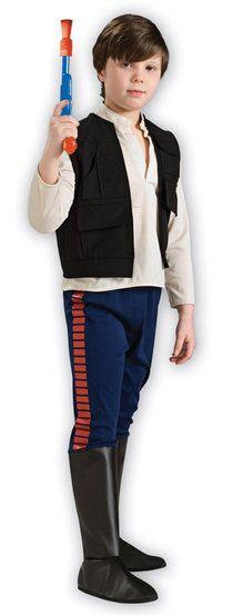 Star Wars Han Solo Deluxe Kids Costume
