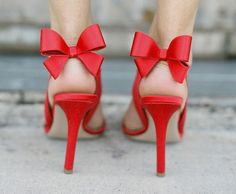 Pretty shoes with bow