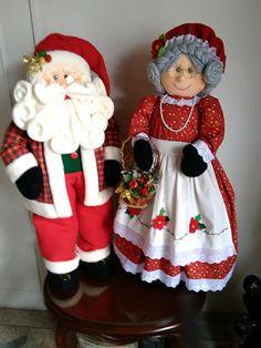 , - Her Crochet Christmas Elf Doll, Snowman Christmas Decorations, Primitive Christmas, Christmas Tree Toppers, Vintage Christmas, Christmas Crafts, Christmas Ornaments, Christmas Christmas, Christmas Stockings