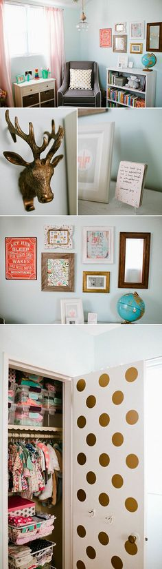 Featured Nursery via Spearmint Baby