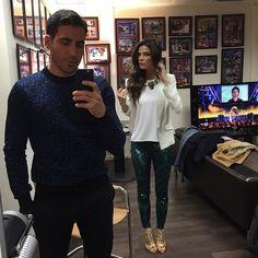 Juana Acosta with #bdba trousers