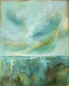 "Saatchi Art Artist Drew Noel Marin; Painting, ""Serenity"" #art"