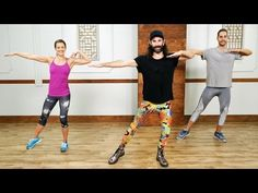 Burn Calories With This Dance Party Workout | Class FitSugar.  No equipment need for this 30 min workout.