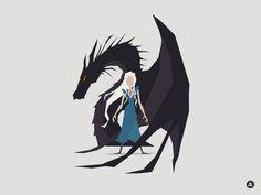 Dany & Drogon