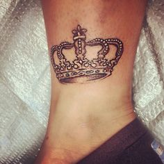 Crown tattoo ive always wanted one :)