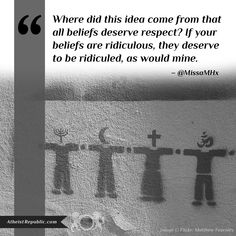 All Beliefs Require Respect