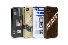 Link to 4/4S, but Amazon has them for the 5, too: Power-A Star Wars iPhone Cases