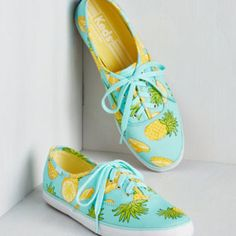 Fruits Fruits and Flatters Sneaker in Pineapple by Keds from ModCloth